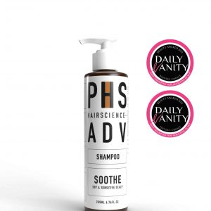 Award Winning PHS HAIRSCIENCE ADV Soothe Shampoo for Sensitive Scalp