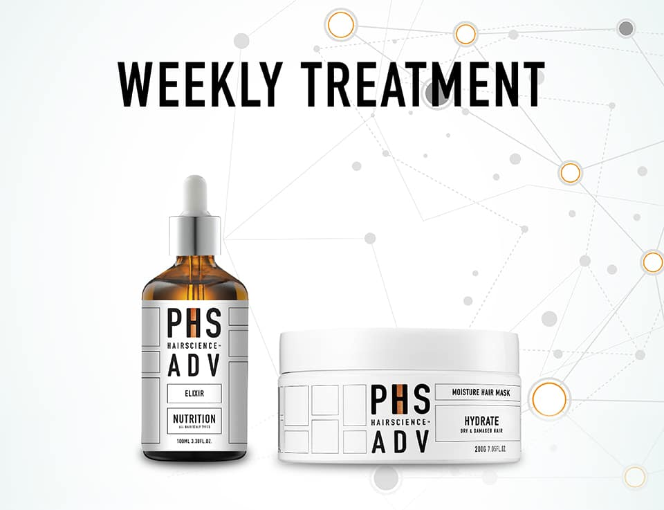 PHS HAIRSCIENCE®️ Home Page Weekly Treatment Cover