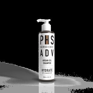 phs hairscience adv argan oil shampoo 200ml