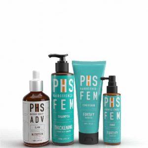 PHS HAIRSCIENCE®️ FEM Thickening Bundle Kit