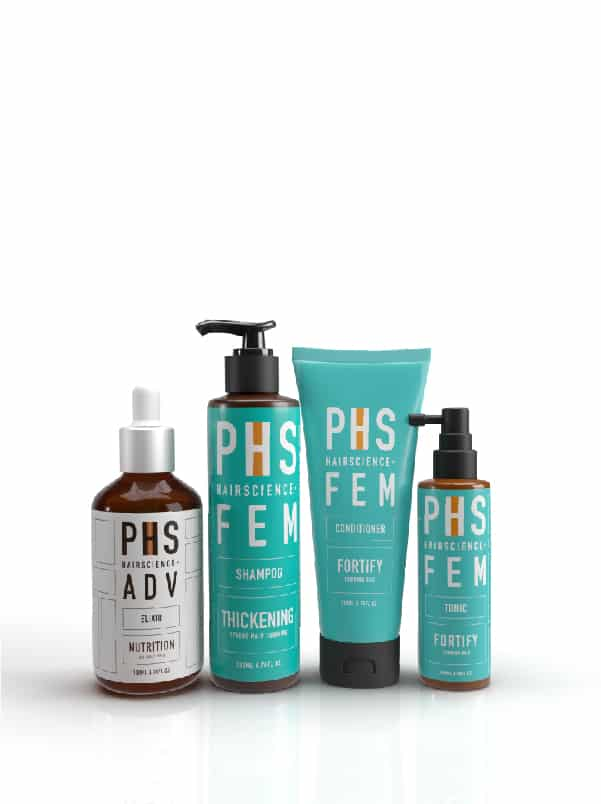 PHS HAIRSCIENCE®️ FEM Thickening Bundle Kit