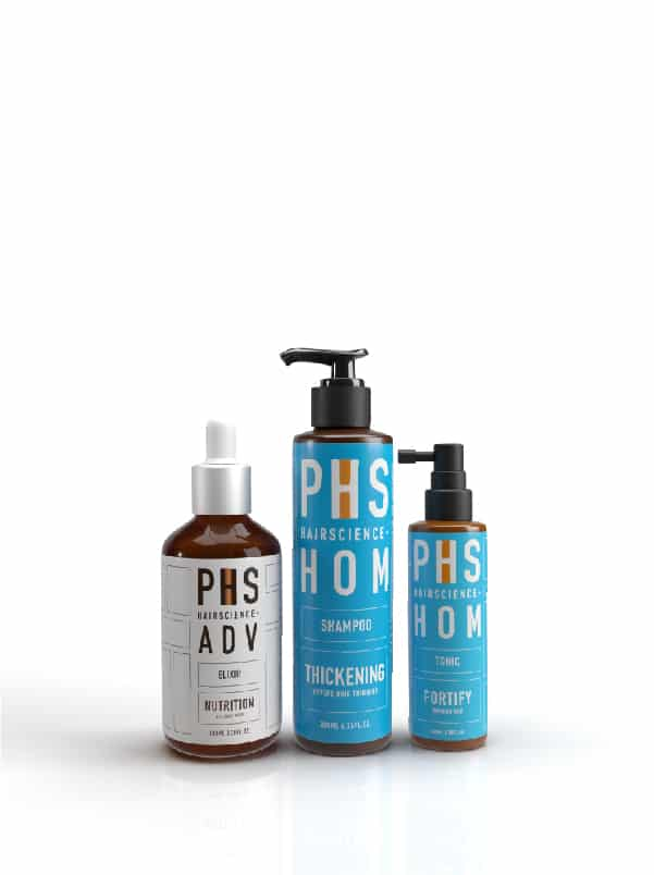 PHS HAIRSCIENCE®️ HOM Thickening Bundle Kit