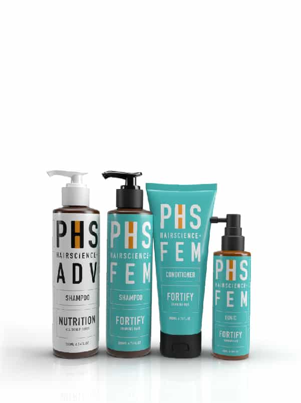 PHS HAIRSCIENCE®️ Signature Daily Regime-Mild to Moderate Female Hair Loss