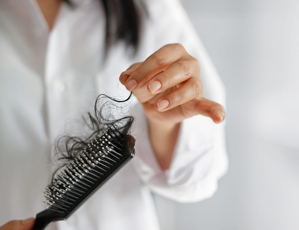 PHS HAIRSCIENCE®️ 6 Symptoms and causes of hair loss