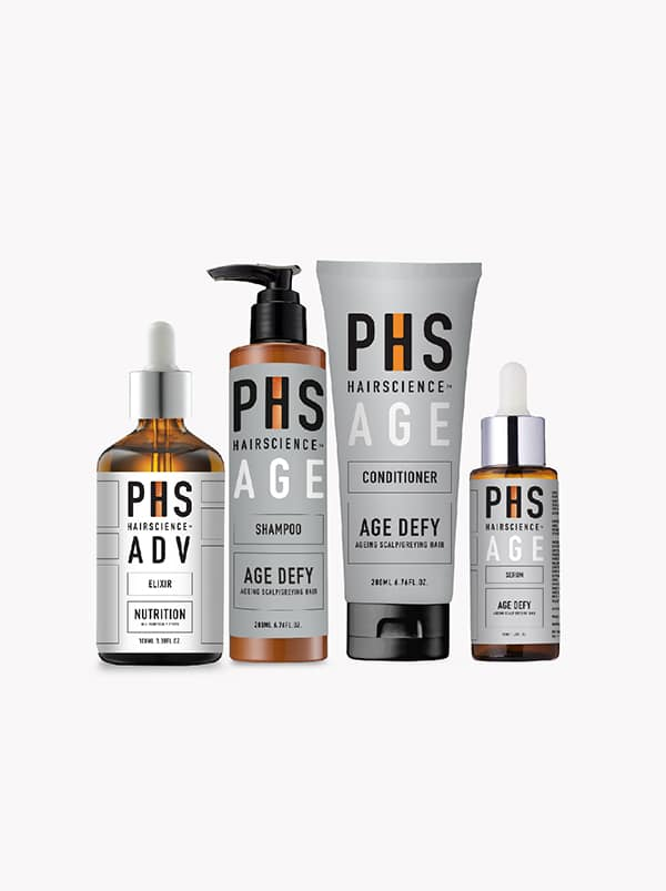PHS HAIRSCIENCE®️ AGE Defy Bundle Kit