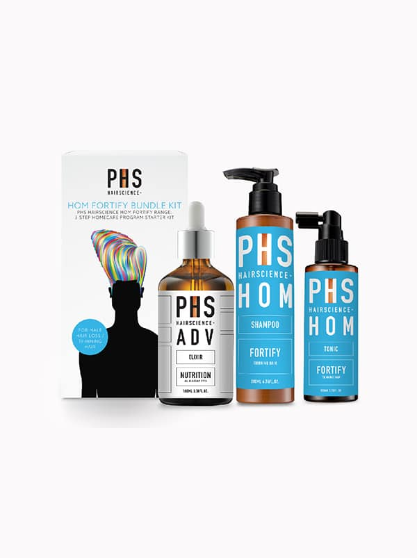 PHS HAIRSCIENCE®️ HOM Fortify Bundle Kit