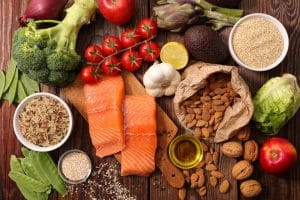 Food that promotes healthy hair growth