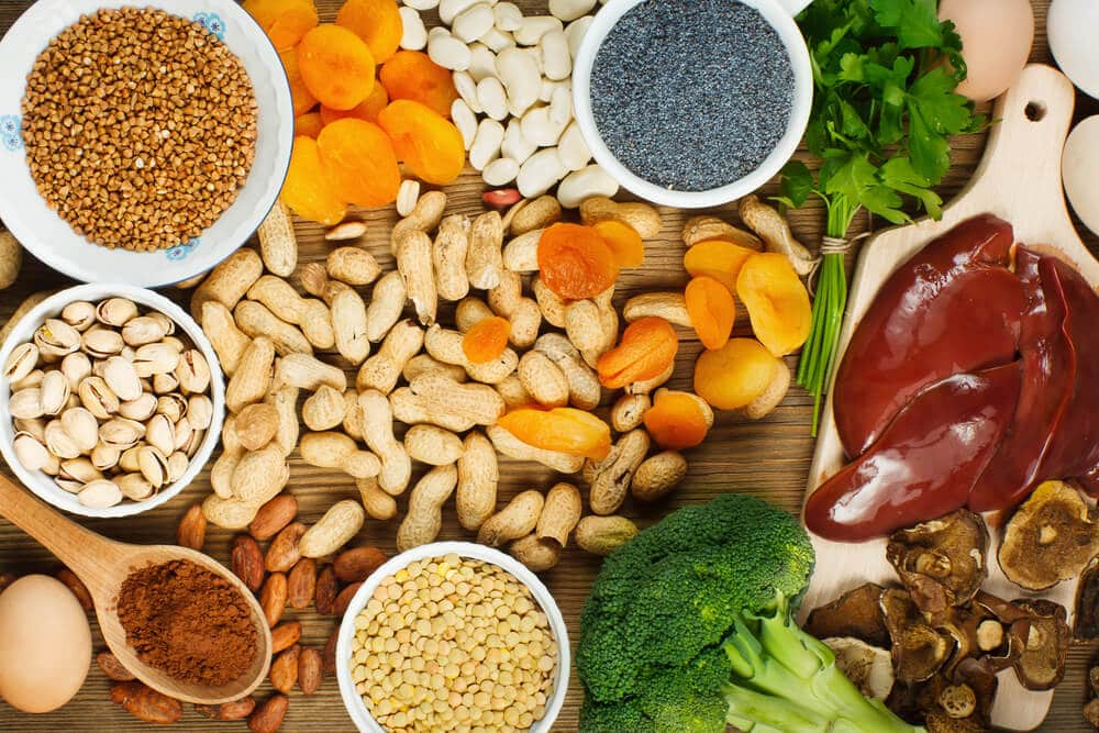 Sources of iron good for hair growth