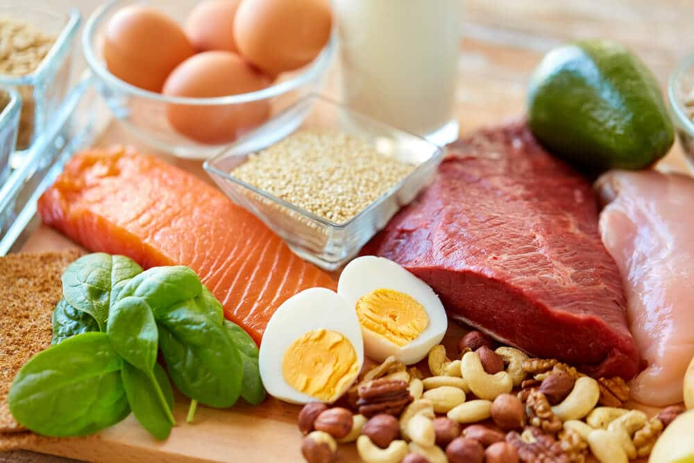 Sources of protein good for hair growth