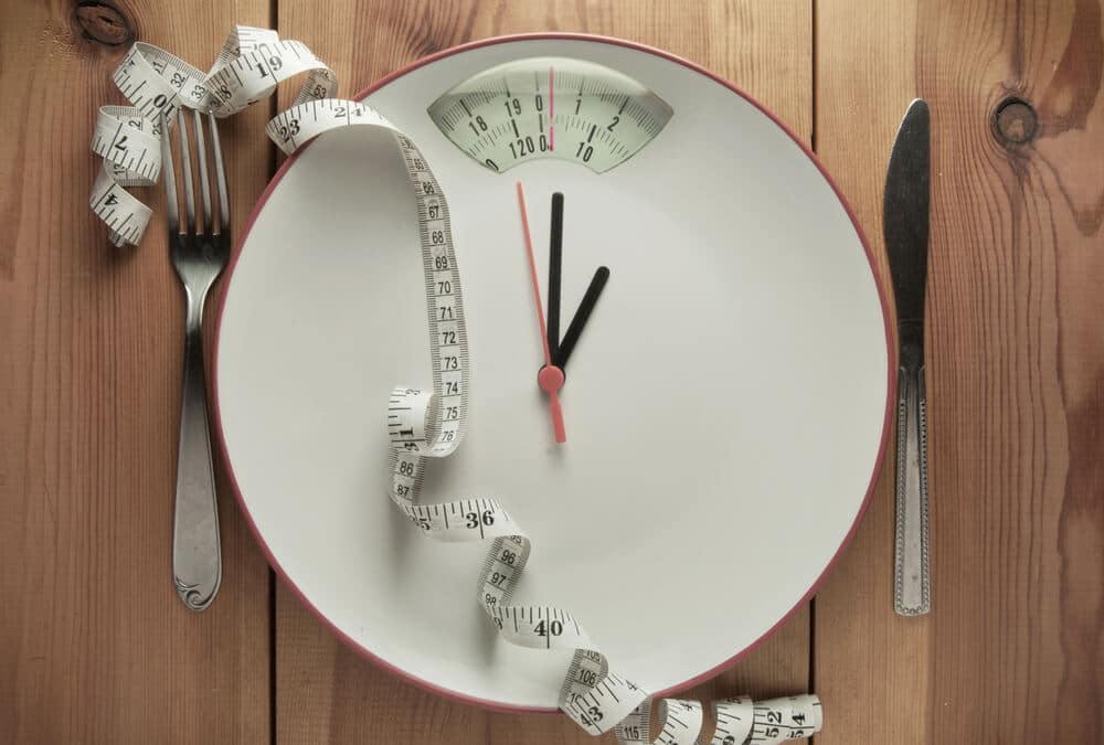 Weighing scale to show change in weight
