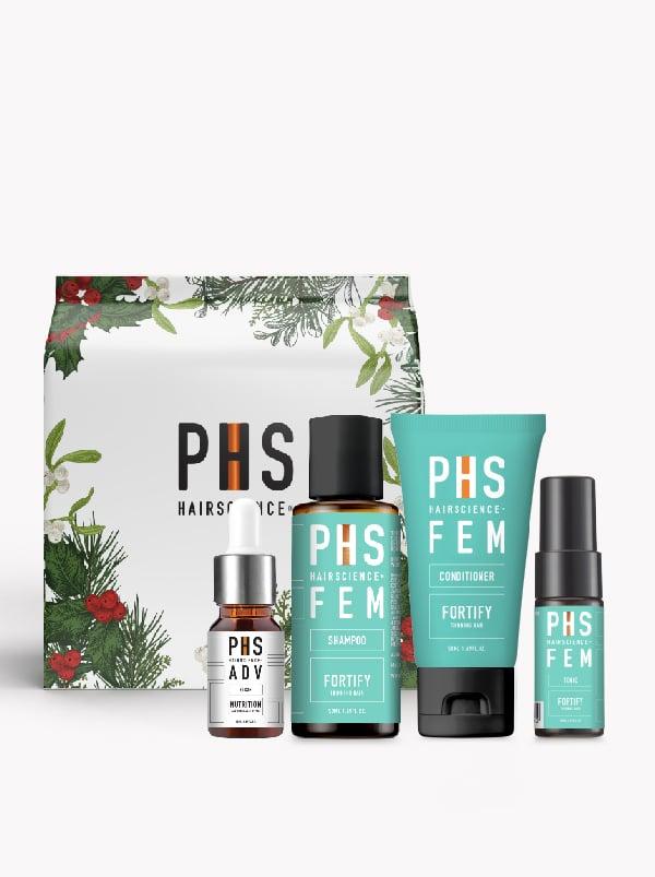 PHS HAIRSCIENCE®️ FEM Fortify Festive Starter Kit
