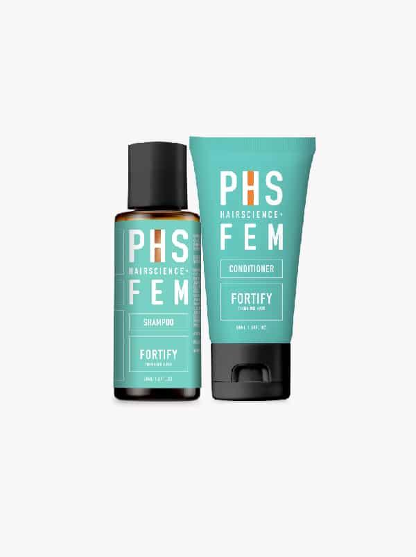 PHS HAIRSCIENCE®️ FEM Fortify $12 Bundle