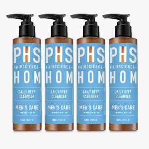 PHS HAIRSCIENCE®️ HOM Daily Deep Cleanser Bundle of 4