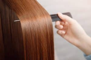Long, beautiful shiny hair
