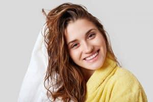 female hair wash