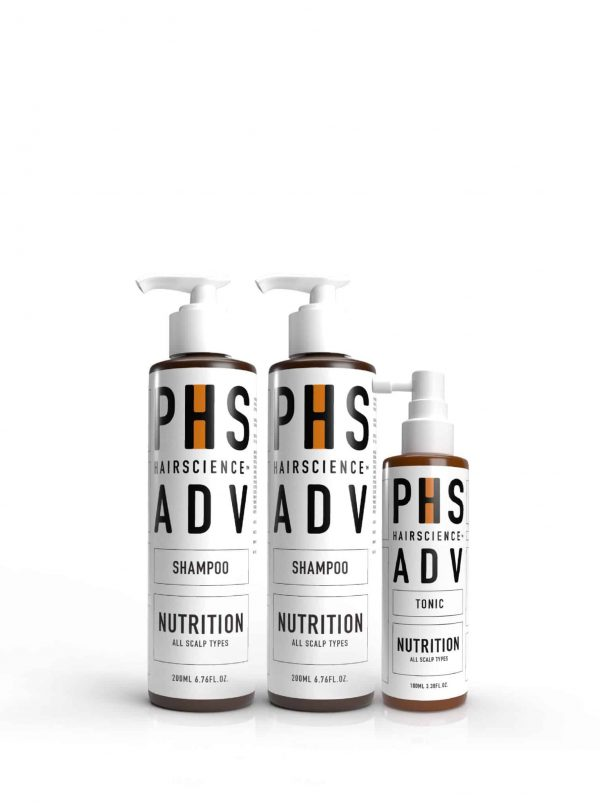PHS HAIRSCIENCE_Father's Day Bundle_ADV Nutrition Scalp Care Kit