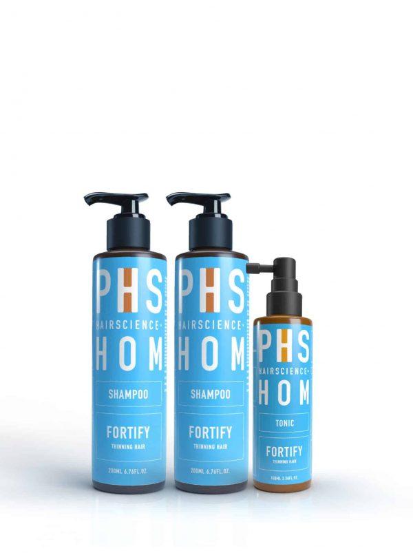 PHS HAIRSCIENCE__Father's Day Bundle_HOM Anti-Hair Loss Kit