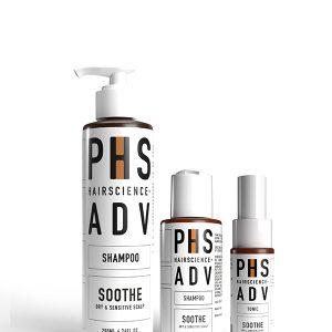 PHS HAIRSCIENCE ADV Soothe NDP Bundle