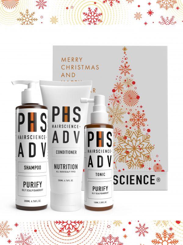 PHS HAIRSCIENCE _Christmas Gifting sets $149_ADV Purify
