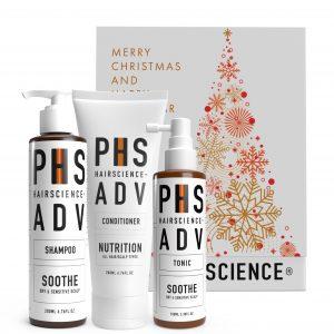 PHS HAIRSCIENCE _Christmas Gifting sets $149_ADV Soothe