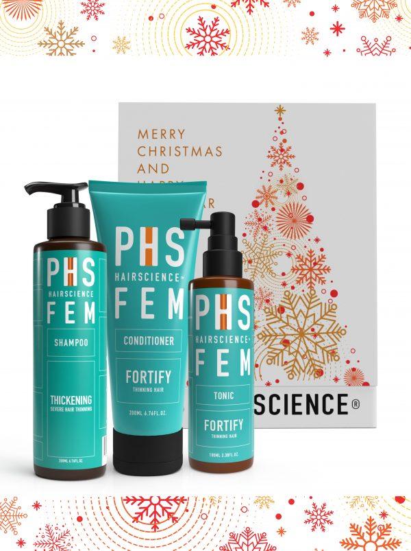 PHS HAIRSCIENCE _Christmas Gifting sets $149_FEM Thickening
